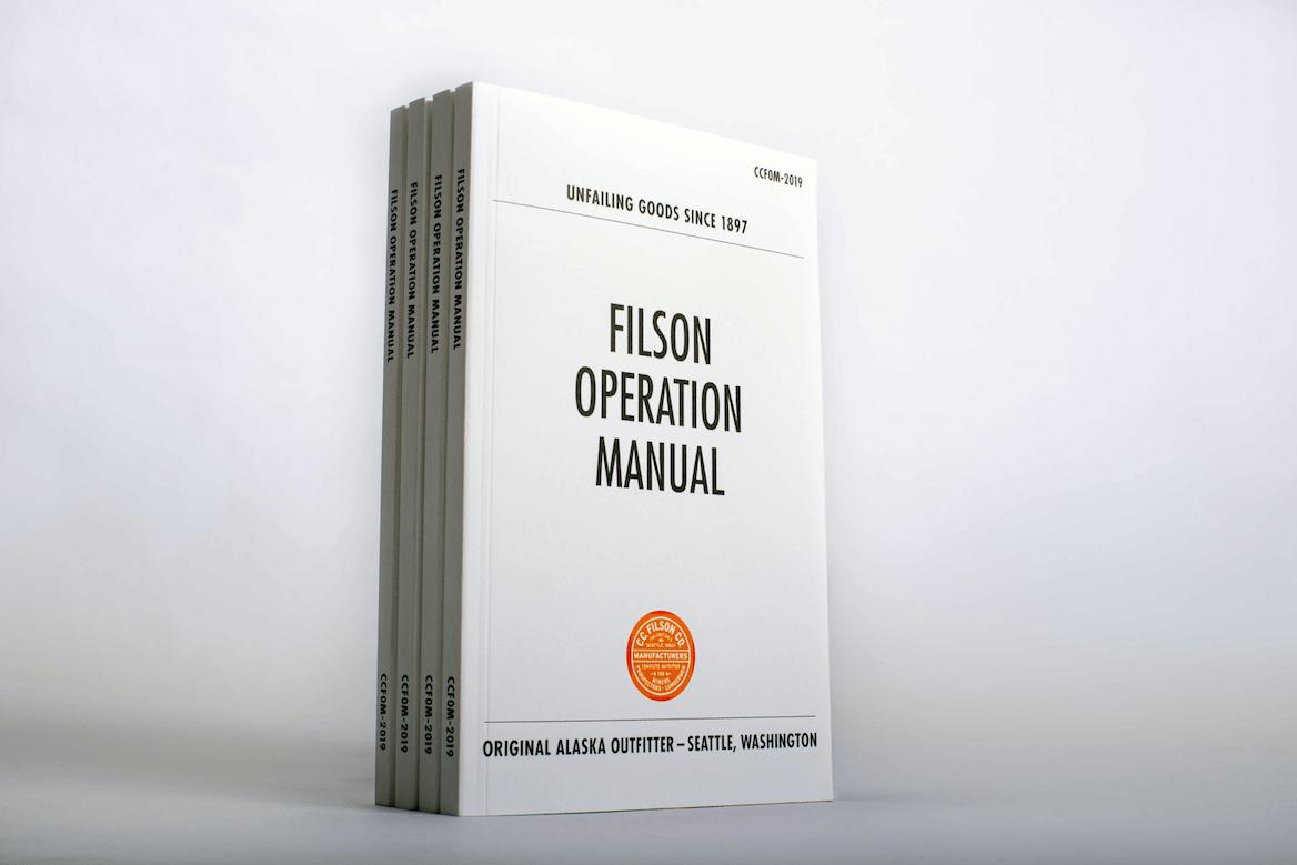 Filson Brand Book Cover