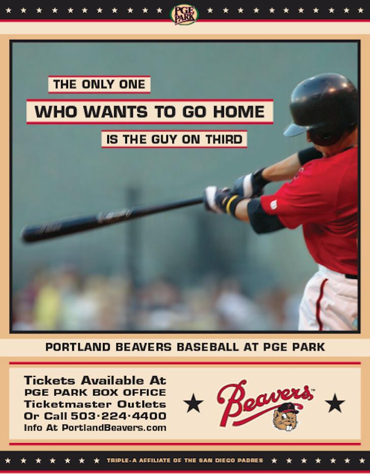 portland beavers baseball